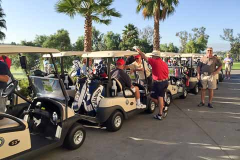 LACB28 Golfers at Admiral Baker