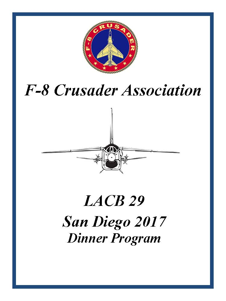 Front cover of LACB29 dinner program